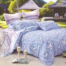 雙人-100%天絲四件式兩用被床包組(斑斕夢)