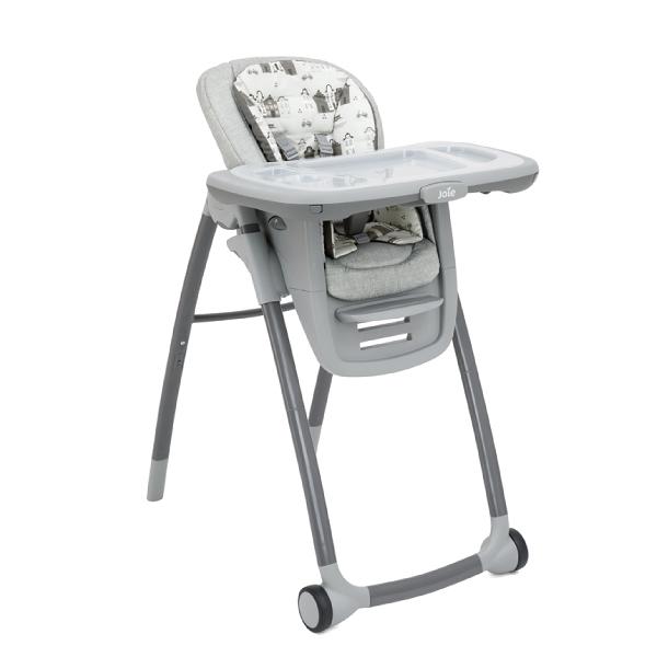 【贈口罩套3入】奇哥 joie Multiply 6in1成長型多用途餐椅-灰