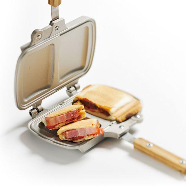 折疊式三明治烤盤