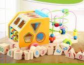 兒童益智積木玩具0-1-2-3周歲男女孩嬰兒早教形狀配對 萬客居