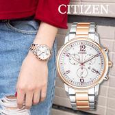 【公司貨2年保固】CITIZEN Eco Drive 風采動人光動能女錶 FB1435-57A