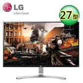 LG 27UD68-W 27型 AH-IPS 4K 電競電腦螢幕【限量加贈多功能螢幕架】