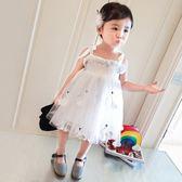 女童禮服 新款公主裙甜美洋氣兒童禮服裙LJ10219『黑色妹妹』
