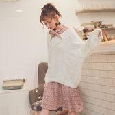 MUMU【O30999】浪漫碎花領口綁帶連身洋裝。三色