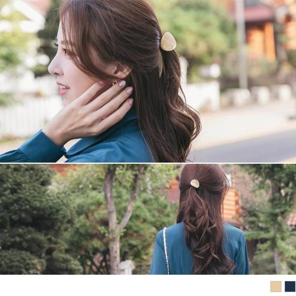 《ZC1743》質感大理石紋髮飾/髮圈 OrangeBear