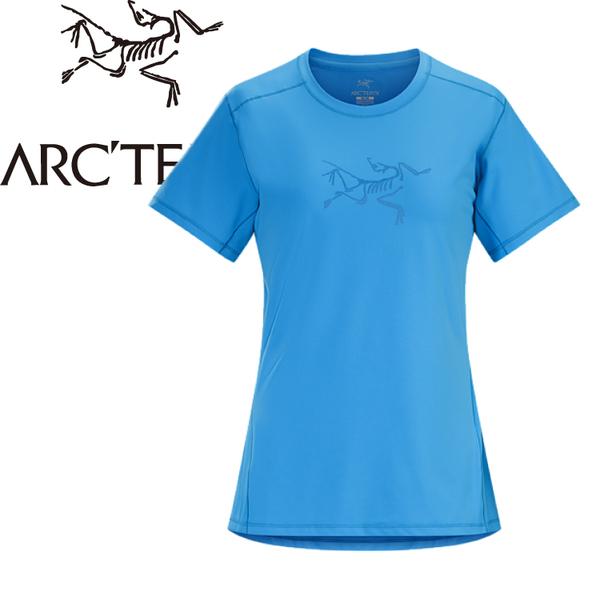 【ARC TERYX 始祖鳥 女款 Phasic快乾短袖圓領衫《淡藍》】18915/圓領T恤/排汗衣/吸濕排汗★滿額送