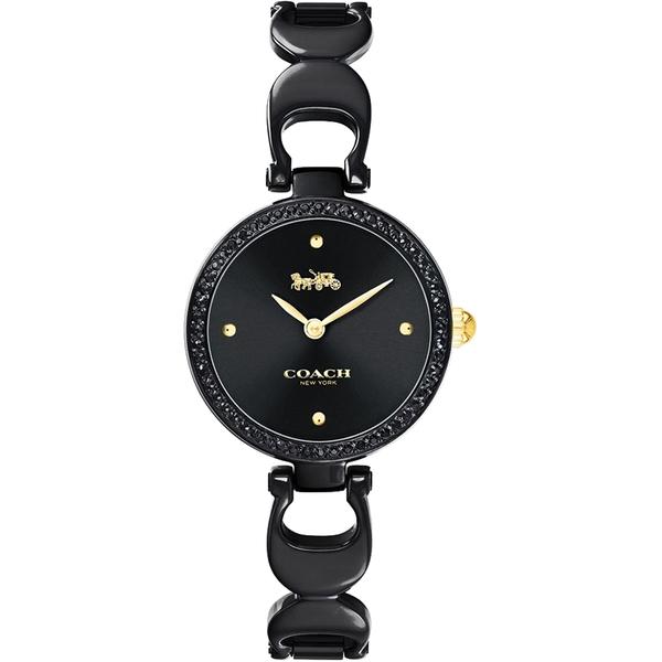 Coach 紐約之夜晶鑽手鍊女錶-26mm CO14503564