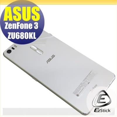 【Ezstick】ASUS Zenfone 3 ZU680 KL 專用 二代透氣機身保護貼(機身背貼)DIY 包膜
