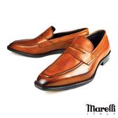 【Marelli】頂級手工樂福鞋 咖啡(M403-BR)