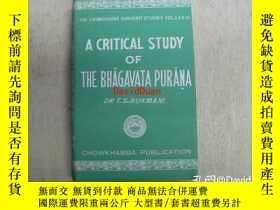 二手書博民逛書店A罕見critical study of the Bhāgavata Purāṇa : with special