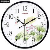 鐘錶 掛鐘 時鐘 家用掛錶石英鐘E家人