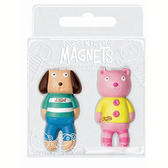 【4M 創意 DIY】Jessbot&Cartin Magnets 寶貝狗&寶貝貓磁鐵