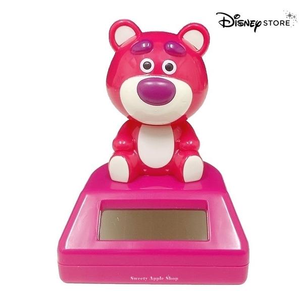 【SAS】日本限定 迪士尼商店限定 Disney Store 玩具總動員 熊抱哥 太陽能 搖擺 裝飾公仔