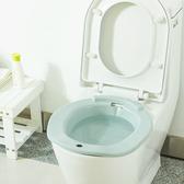 ◄ 生活家精品 ►【N331】馬桶坐浴盆 孕婦 月子 坐洗盆 免蹲 馬桶 洗屁股盆 男女 護理 居家 浴室