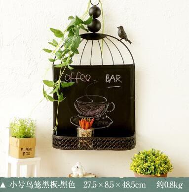 zakka假窗戶電錶箱家居飾品復古創意留言板黑板牆飾咖啡廳掛飾