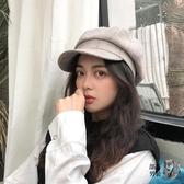 貝雷帽 帽子女韓版日系百搭ins潮網紅貝雷帽八角帽女秋冬英倫復古鴨舌帽
