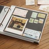 全館超增點大放送回憶錄DIY黏貼式相冊本 插頁式拍立得情侶手工保護覆膜同學錄影集