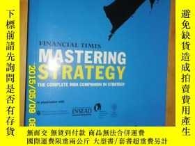 二手書博民逛書店Mastering罕見Strategy5633 ISBN:978