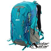 【PolarStar】透氣網架背包 40L『藍色』P19804 多隔間.登山背包.後背包.肩背包.手提包.行李包