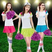 新款拉拉隊成人女健美操廣場舞ds團體表演出服套裝 SG3646【潘小丫女鞋】