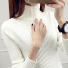 高領毛衣女秋冬新款2020洋氣修身內搭套頭加厚長袖針織打底衫上衣