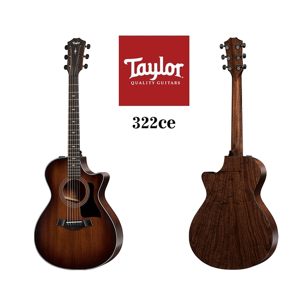 小叮噹的店 - Taylor 322ce 電木吉他 泰勒吉他 3系