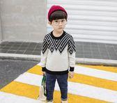 【雙十二】預熱男童毛衣秋冬款寶寶長袖套頭線衣針織衫打底2外穿3-4-5-6歲半男孩  巴黎街頭