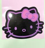 【震撼精品百貨】Hello Kitty 凱蒂貓~凱蒂貓 HELLO KITTY 車用大磁鐵-頭