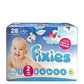 ~奇買親子 網~Fixies 寶貝愛因斯坦嬰兒尿褲3 6kg S 28