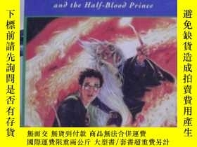 二手書博民逛書店HARRY罕見POTTER and the half blood