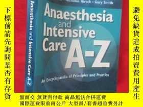 二手書博民逛書店Anaesthesia罕見and Intensive Care