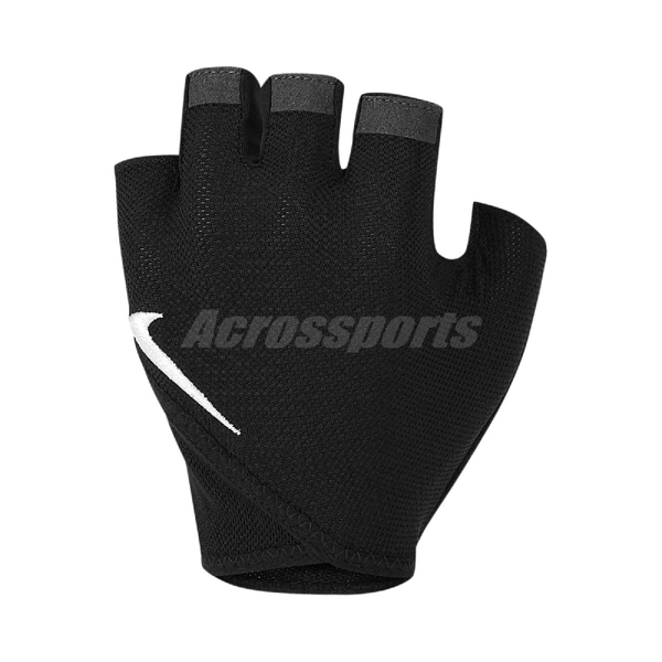 Nike 手套 Gym Essential Fitness Gloves 黑 白 女款 健身手套 重訓 【PUMP306】 N0002557-010
