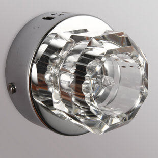 現代時尚水晶燈壁