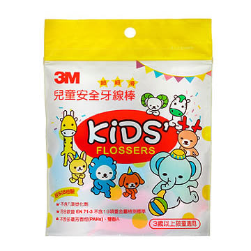 3M 兒童安全牙線棒 (38支,單包)【杏一】