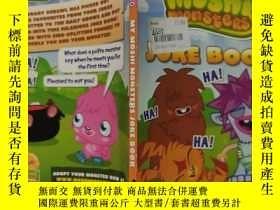 二手書博民逛書店my罕見moshi monsters joke book 我的摩希怪獸笑話書Y200392