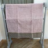 【義大利Bianco Perla】POINT長型浴巾(衛浴用品/ 淡雅紫)