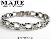 【MARE-316L白鋼】系列: 鏤空鑽 (寬)   款
