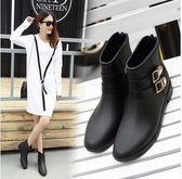 夏季女成人時尚款低幫防滑水鞋Eb12990『小美日記』