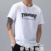 短袖 2021夏季新款短袖男潮牌t恤寬鬆棉打底衫半袖大碼體恤衣服XaY5012