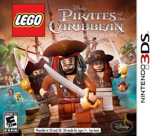 3DS Lego Pirates of the Caribbean 樂高神鬼奇航(美版代購)