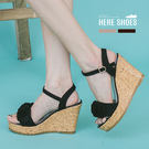 [Here Shoes]涼拖鞋-春夏氣質...