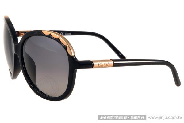 Chloe 太陽眼鏡 CL640SA 001 (黑) 法式典雅氣質女款 # 金橘眼鏡