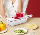 克歐克多功能切菜器家用土豆絲切絲廚房神器蘿卜擦刨絲大蒜切片機 3C優購