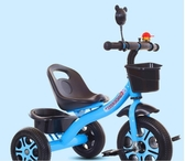 兒童自行車 星孩兒童三輪車1-3-2-6歲大號寶寶手推腳踏車ATF 歐尼曼家具館