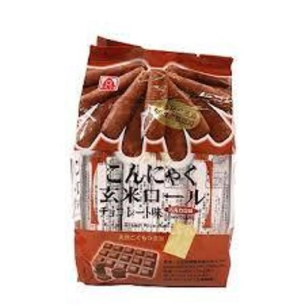 北田蒟蒻糙米捲-巧克力口味