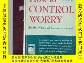 二手書博民逛書店How罕見to control worry【英文原版】(中譯:如