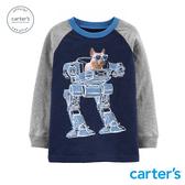 【美國 carter s】機器犬警造型長袖上衣-台灣總代理