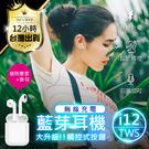 【亞馬遜爆款 無線充電】i12-TW 藍...