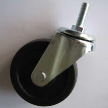 波浪架活動輪(2入) 適用1 鐵管 鍍鉻架