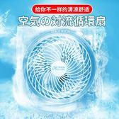 USB冷風機 渦輪空氣循環扇電風扇家用宿舍台式小風扇迷你靜音節能對流電壓220V 免運維多